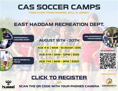 CAS Soccer Flyer