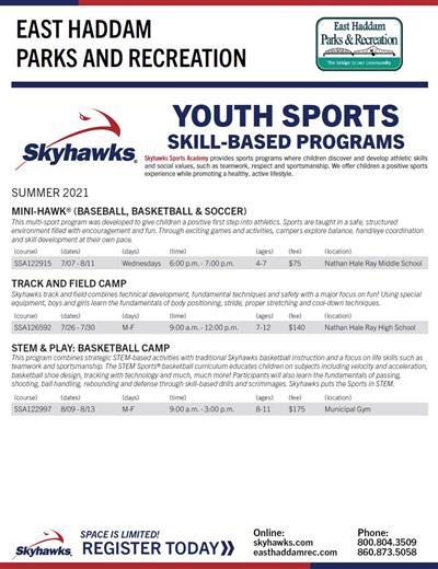Skyhawks Summer Flyer